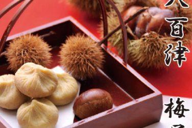 秋の味覚!! 栗金糖を始めます!!