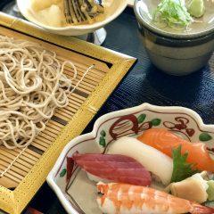 寿司セット 蕎麦/うどん