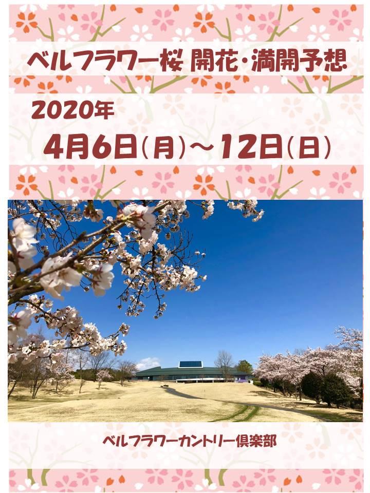 桜開花・満開予想日