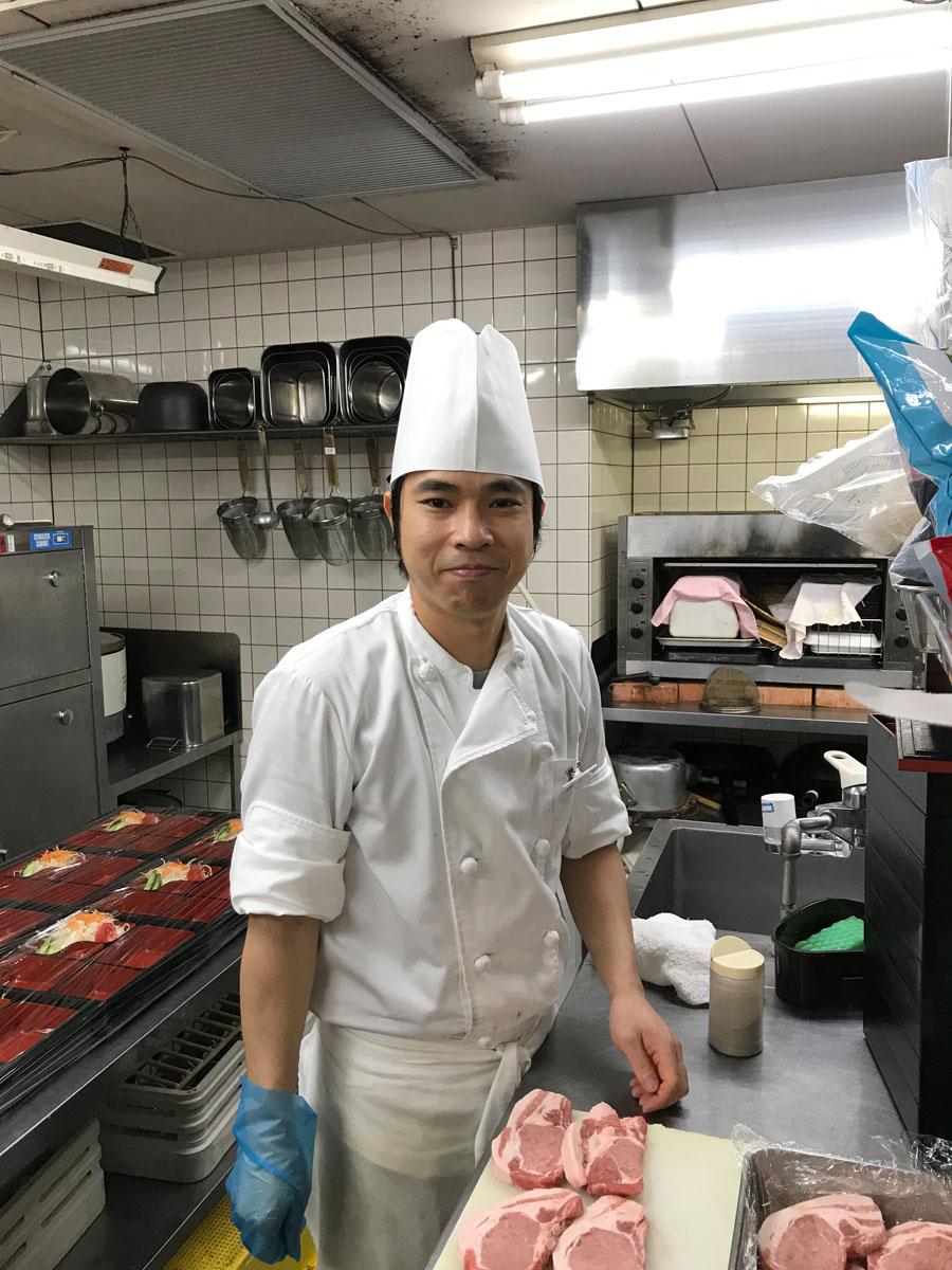 中島国秋さん 正社員/レストラン調理