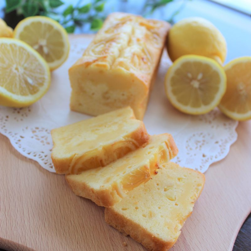 ベルパウンドケーキ レモン